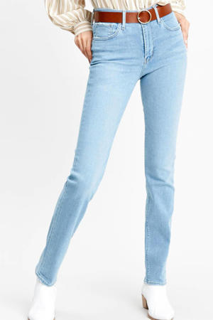 724 high waist straight fit jeans dark denim