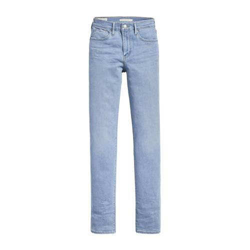 Levi's 724 high waist straight fit jeans dark denim
