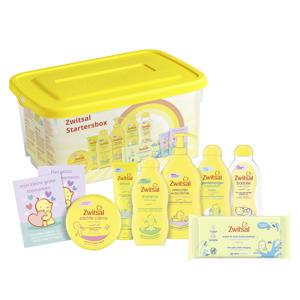 startersbox baby cadeauverpakking (9-delig)