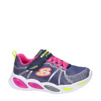 Skechers S-Lights  sneakers met lichtjes blauw/multi, Blauw/multi