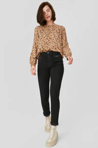 C&A Yessica skinny jeans zwart, Zwart