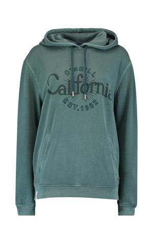 hoodie blauwgroen