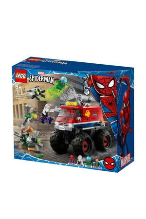Spider-Man's Monstertruck vs. Mysterio 76174
