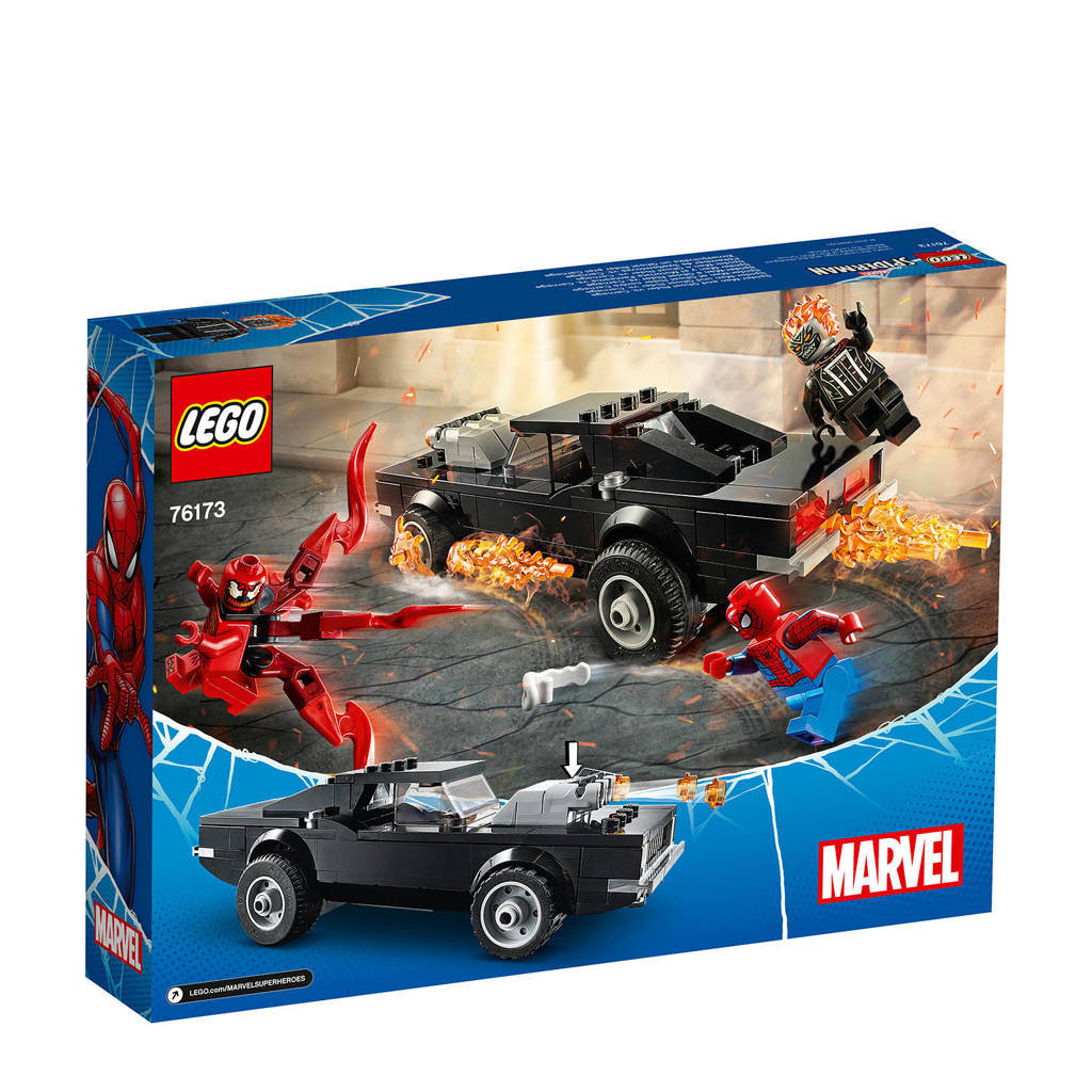 LEGO Super Heroes Spider-Man en Ghostrider vs. Carnage 76173