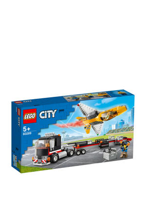 Vliegshow jet transporter 60289