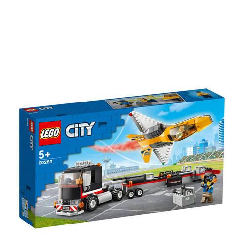 LEGO City Vliegshow jet transporter 60289