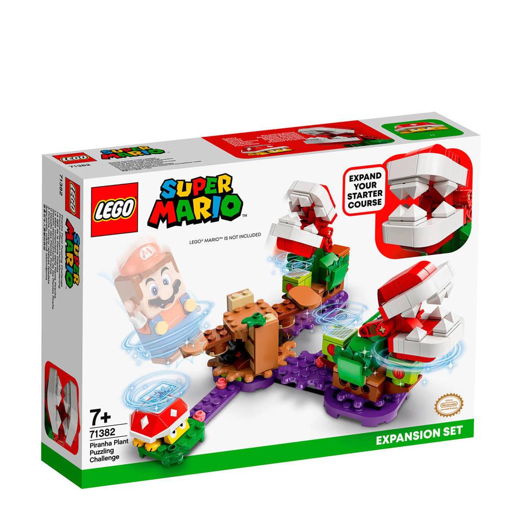 LEGO Super Mario Uitbreidingsset Piranha Plant-Puzzeluitdaging 71382