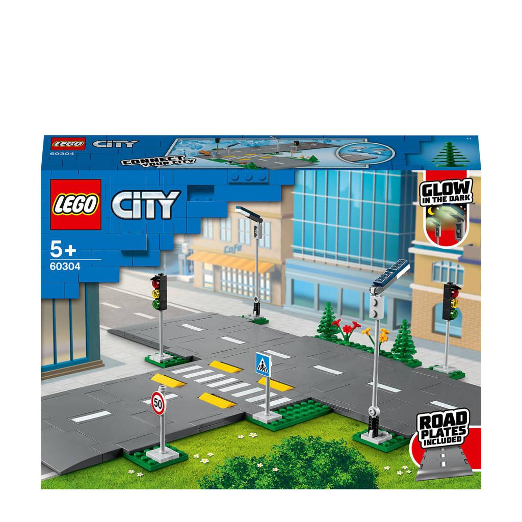 LEGO City Wegplaten 60304