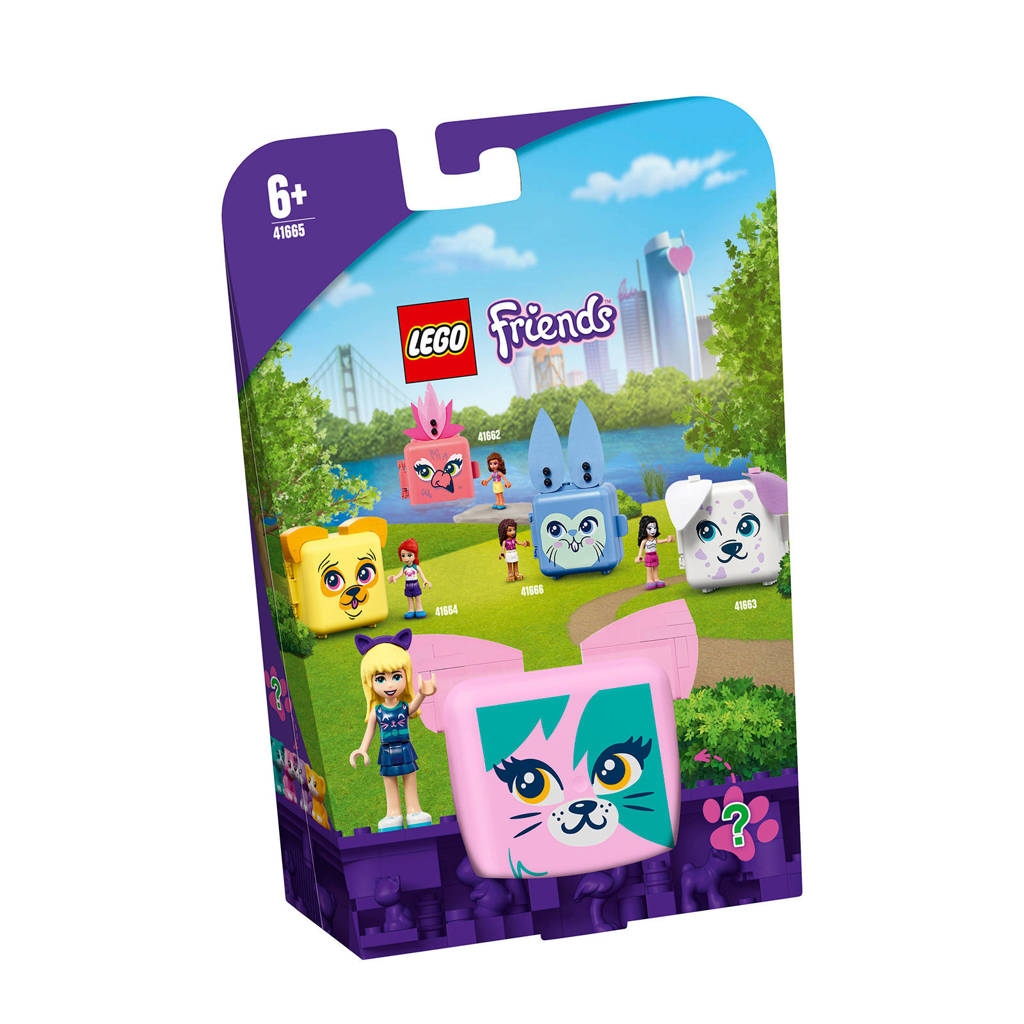 LEGO Friends Stephanie's kattenkubus 41665