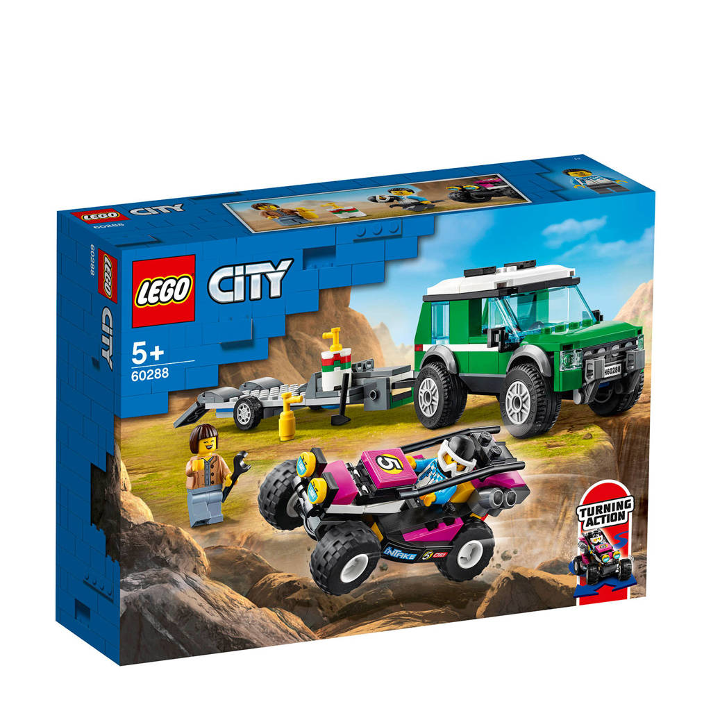 LEGO City Race buggy transport 60288