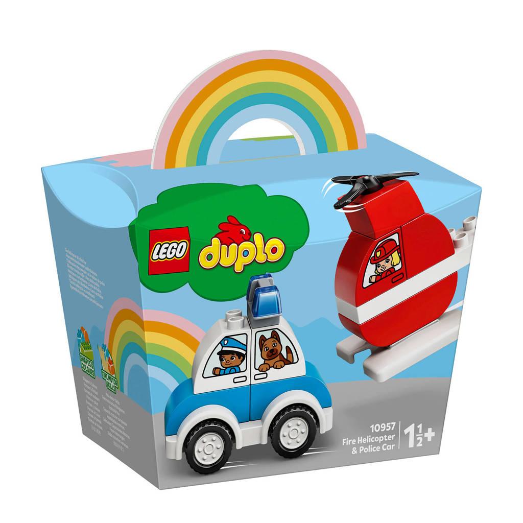 LEGO Duplo Brandweerhelikopter 10957