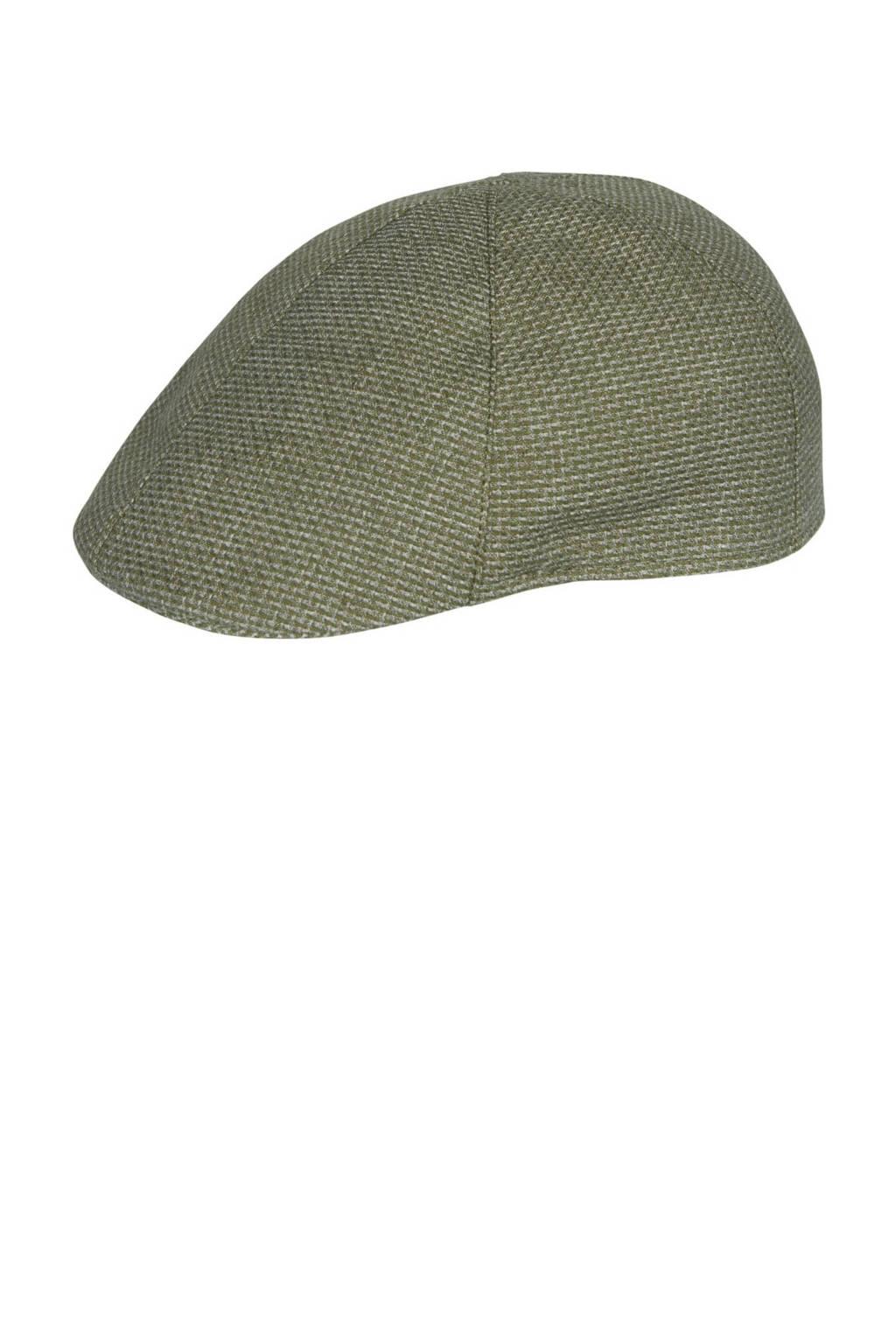 Profuomo flatcap groen, Groen