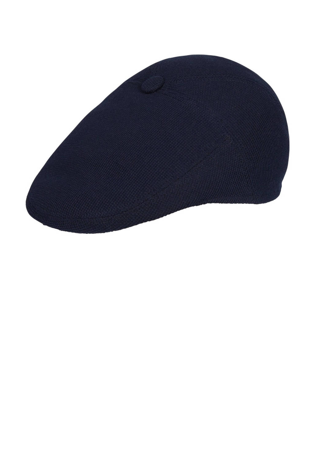 Profuomo flatcap donkerblauw, Donkerblauw