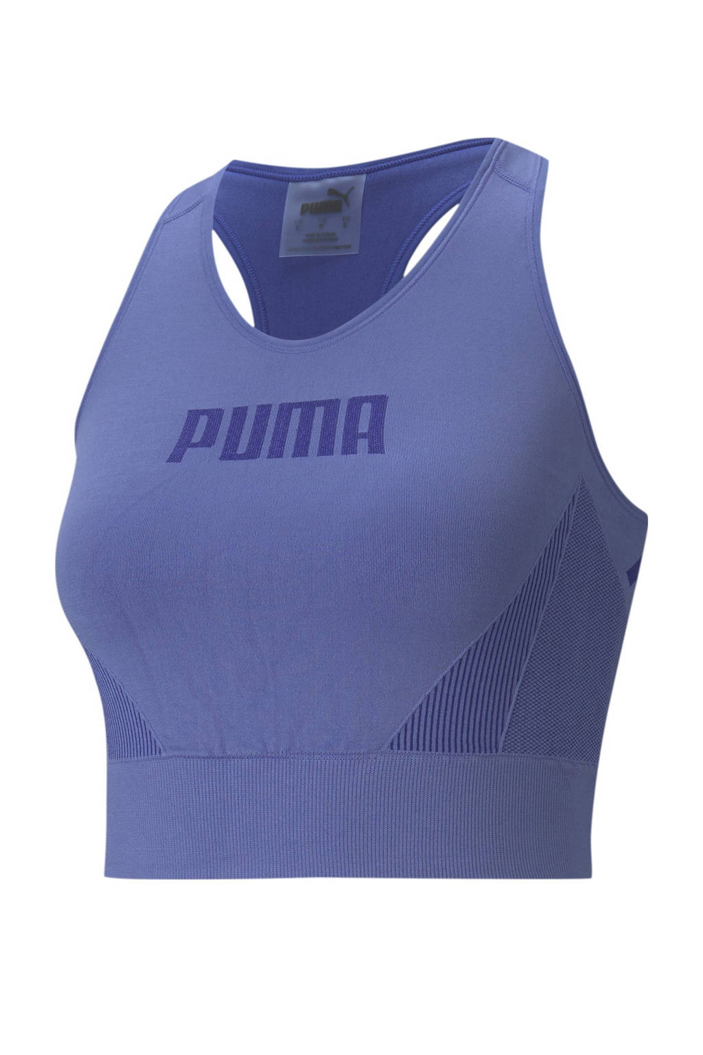 Puma level 1 sport bh blauw, Blauw