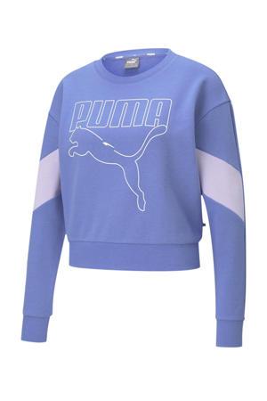 sweater blauw/lichtgrijs