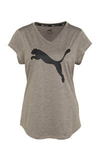 Puma sport T-shirt grijs, Grijs