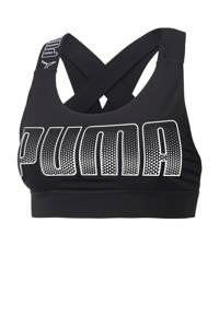 Puma level 3 sportbh zwart, Zwart