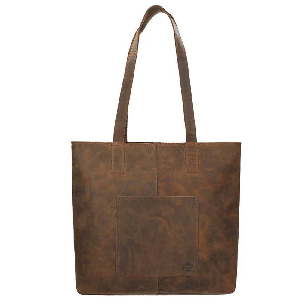 Bear Design  leren shopper Dark Nature bruin, Bruin