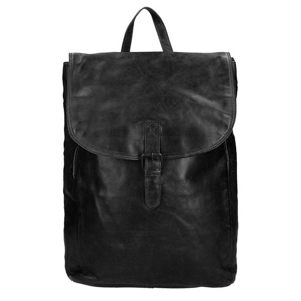 Bear Design  Cow Lavato Backpack zwart3, Zwart