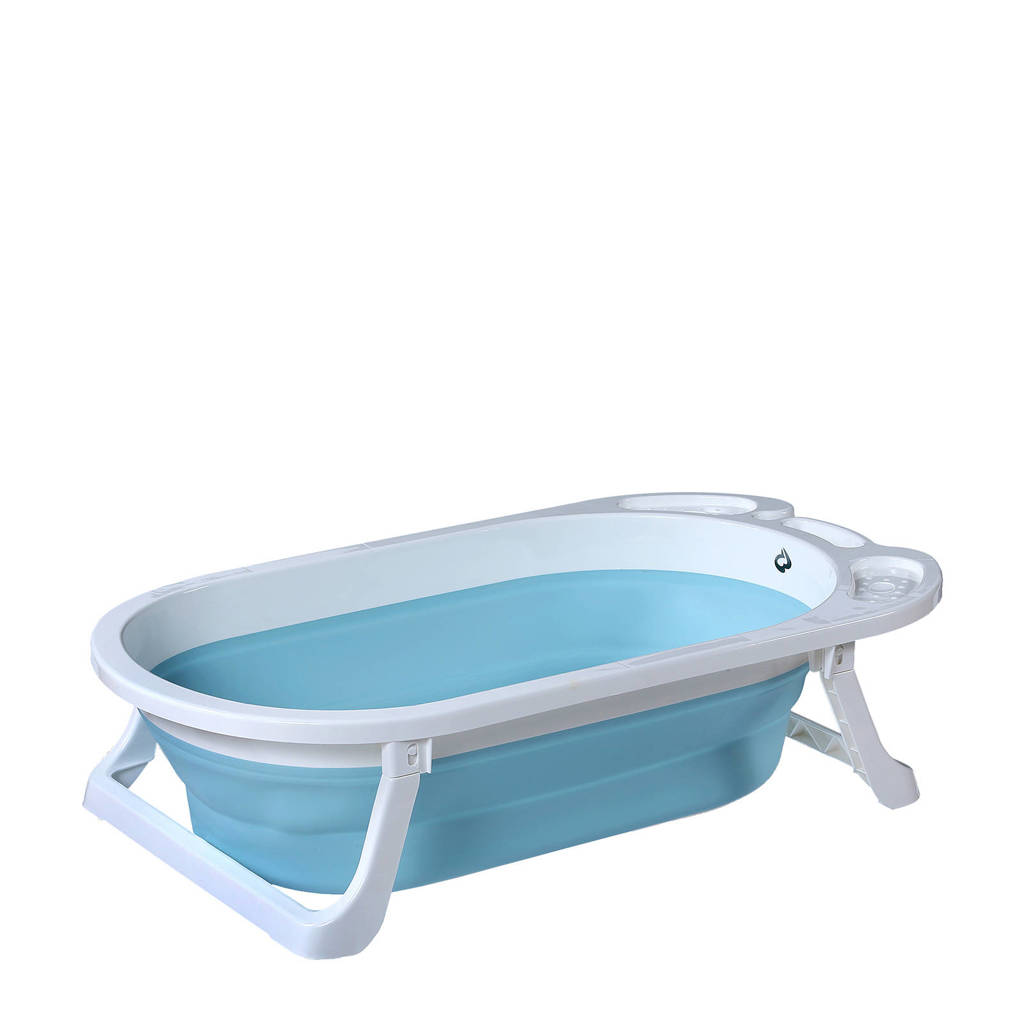 Titaniumbaby opvouwbaar babybad Wave blauw, Blauw
