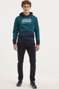 JACK & JONES CORE hoodie met logo petrol, Petrol