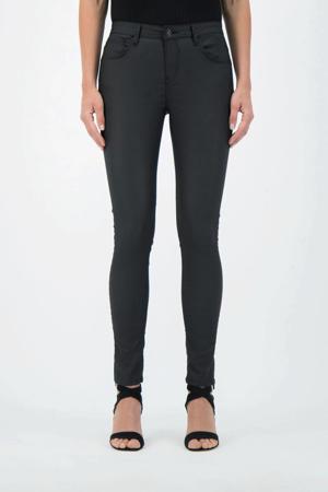 coated skinny jeans Celia zwart