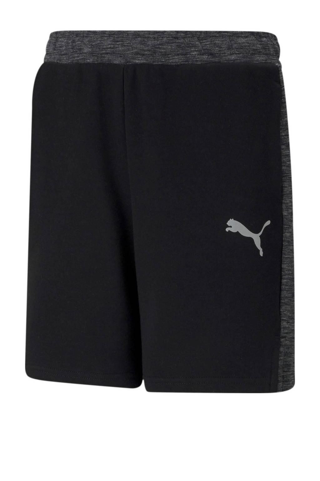 Puma sweatshort zwart/grijs, Zwart/grijs