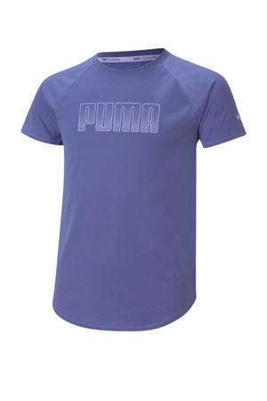 sport T-shirt blauw
