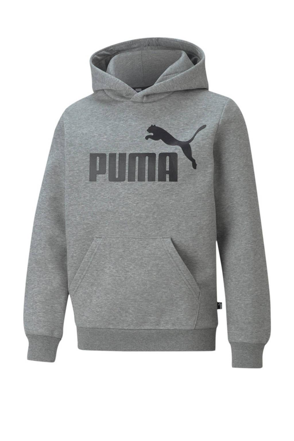Puma hoodie grijs melange, Grijs melange