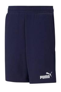 Puma sweatshort donkerblauw, Donkerblauw