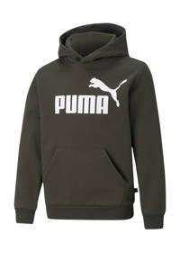 Puma hoodie donkergroen, Donkergroen