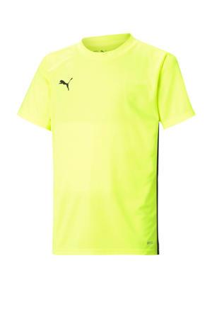 Junior  voetbalshirt geel/zwart