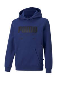 Puma hoodie blauw, Blauw