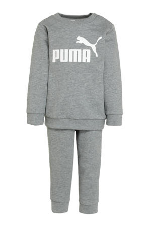 shirt + broek grijs