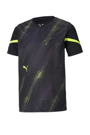Junior  voetbalshirt zwart/geel