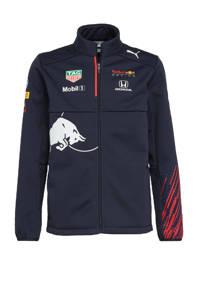 Puma unisex Red Bull Racing Team softshell jack donkerblauw, Donkerblauw