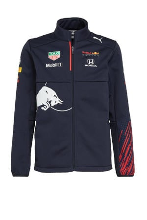 unisex Red Bull Racing Team softshell jack donkerblauw