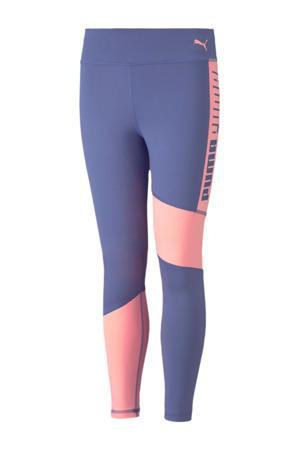 sportbroek blauw/roze