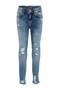 LTB skinny jeans Lonia met slijtage elie wash, Elie wash