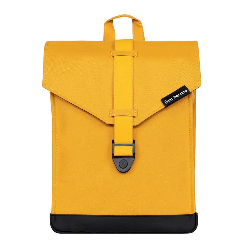 Bold Banana  15,6 inch rugzak Original Backpack geel, Geel