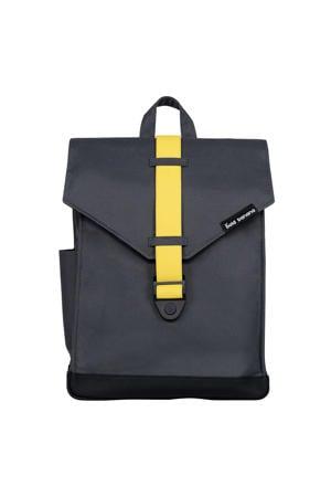 15,6 inch rugzak Original Backpack grijs/geel