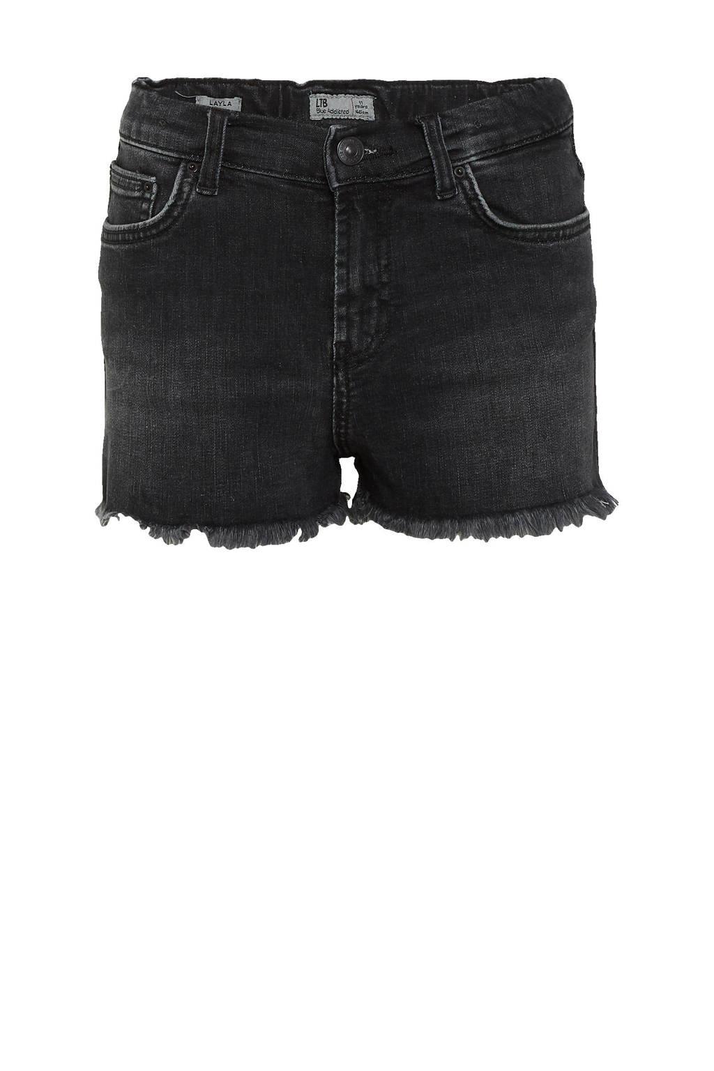 LTB high waist slim fit jeans short Layla dias undamaged wash, Dias undamaged wash