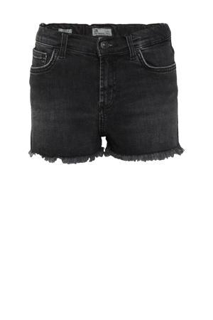 high waist slim fit jeans short Layla dias undamaged wash