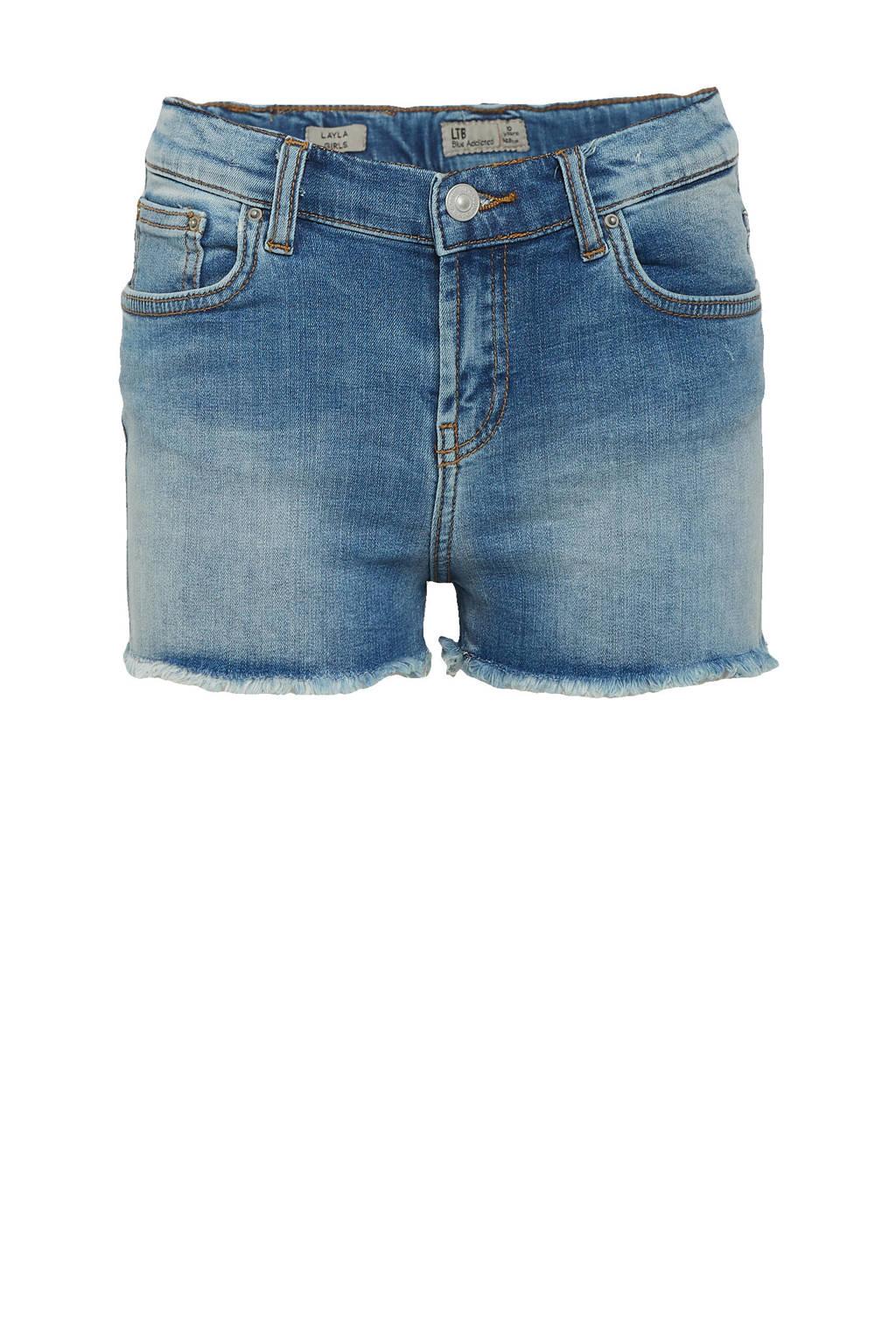 LTB high waist slim fit jeans short Layla oleana undamaged wash, Oleana undamaged wash