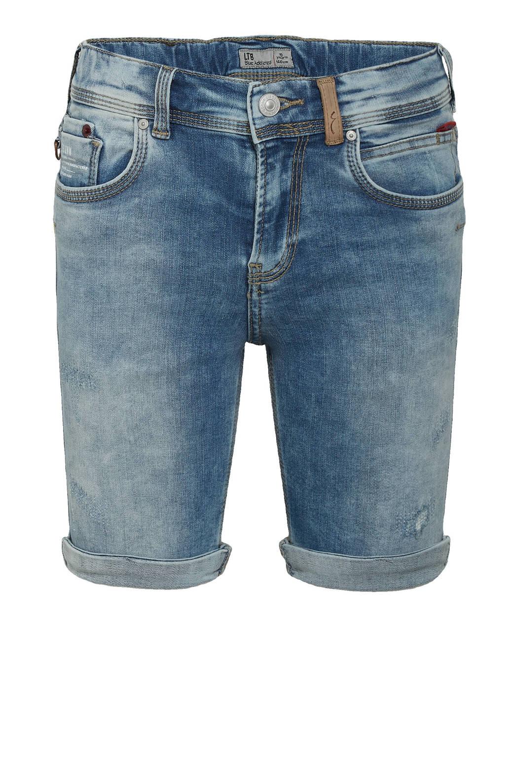 LTB slim fit jeans bermuda Corvin storm blue wash, Storm blue wash