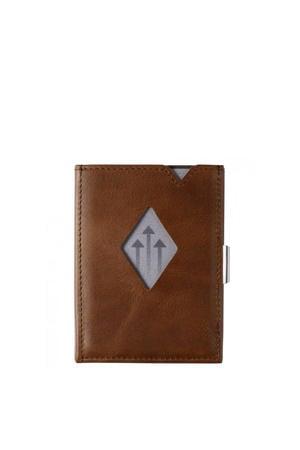 Leather Multi Wallet donkerbruin