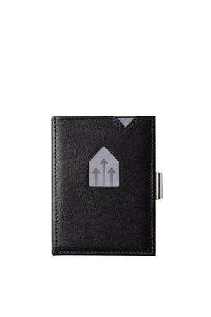 Leather Wallet RFID zwart