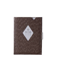 Exentri Leather Leather Wallet bruin, Bruin