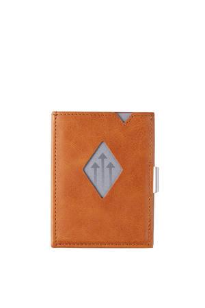 Leather Wallet RFID cognac