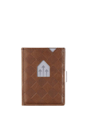 Leather Wallet RFID donkerbruin